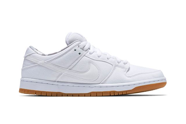 nike sb-dunk low-white-gum