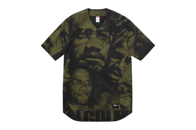supreme-malcom x capsule collection