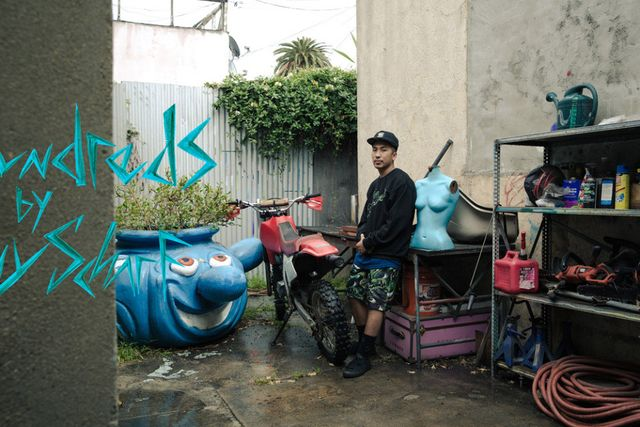 the hundreds-kenny scharf-ss15