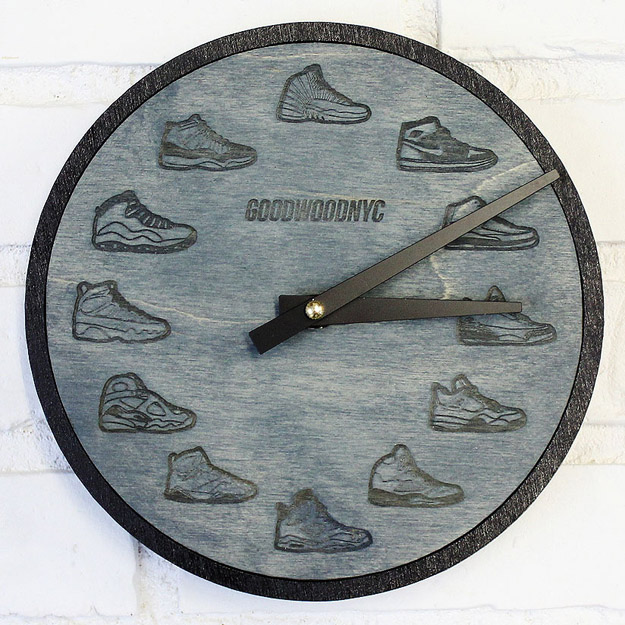 wooden-air-jordan-retro-wall-clock-2