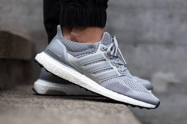 adidas-ultra boost-grey-on foot