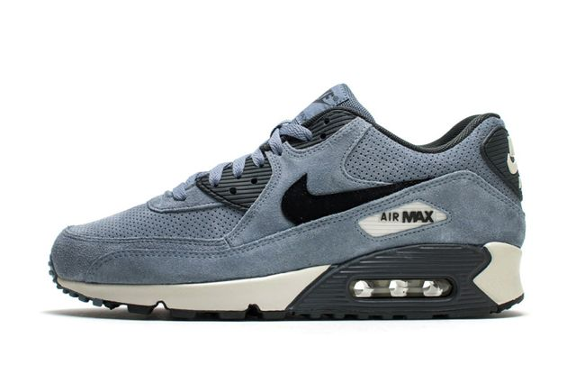 nike-air max 90-graphite blue