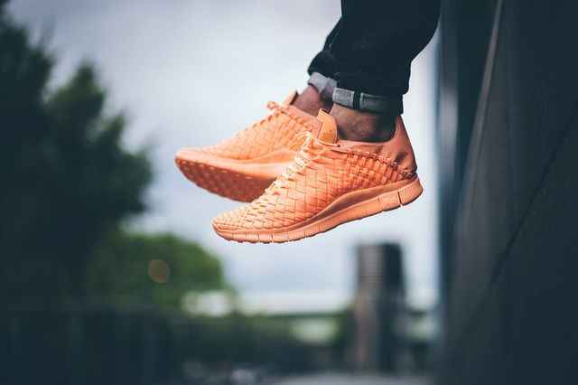 nike-free inneva woven tech sp-sunset glow-light aqua