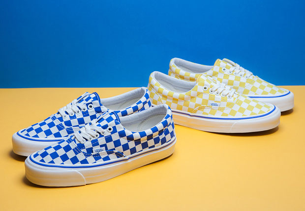 vans era 2 tone checkered