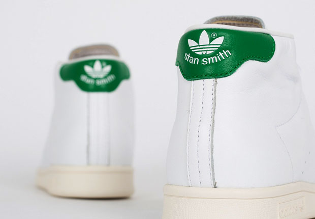 adidas-stan smith mid-fairway green