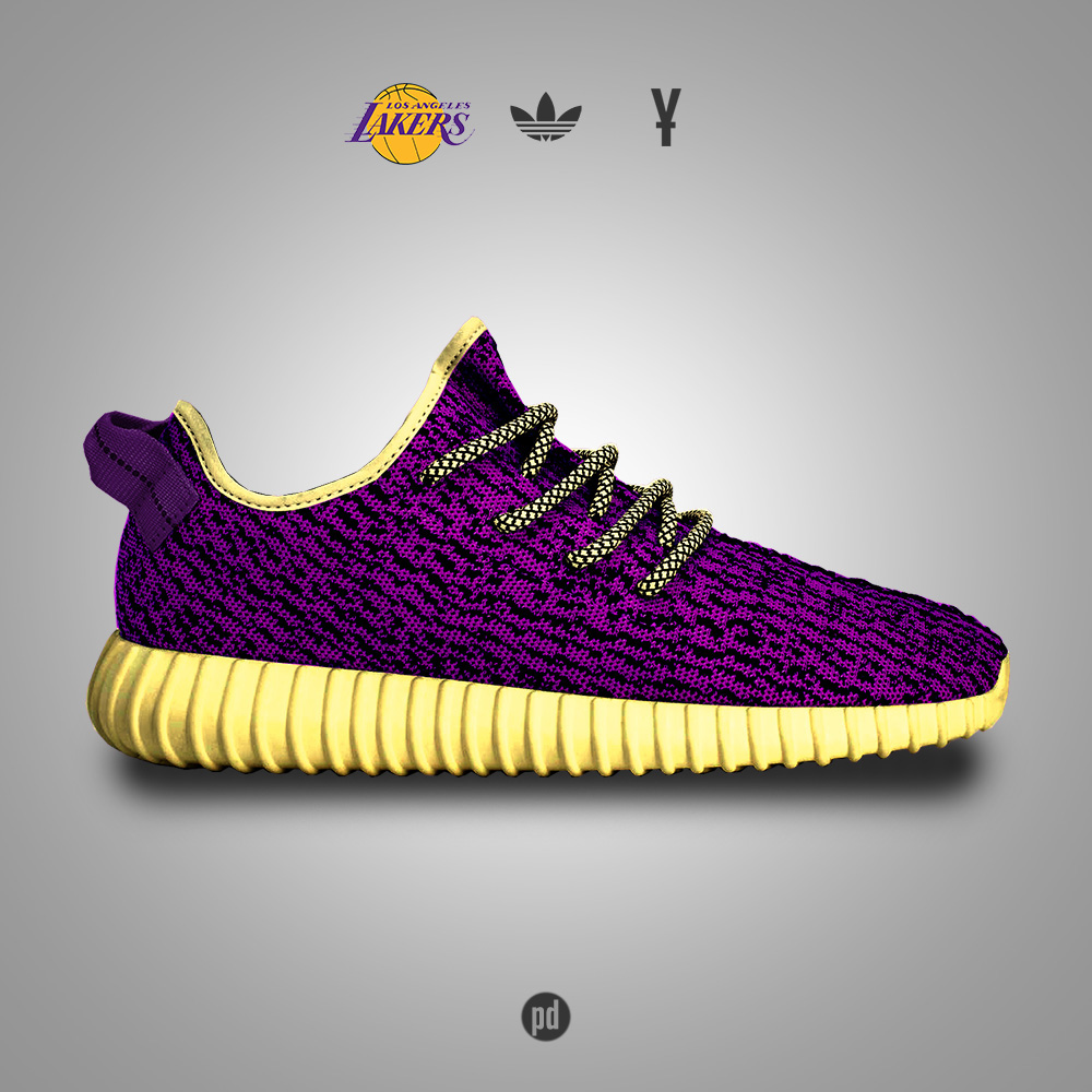 Adidas Yeezy Boost 350 inspired by NBA