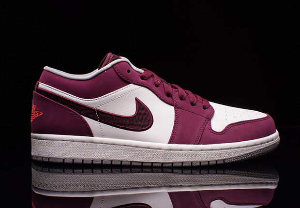 air jordan-1 low-bordeaux