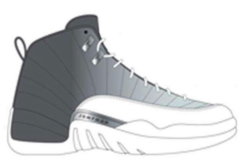 air-jordan-12-grey-black