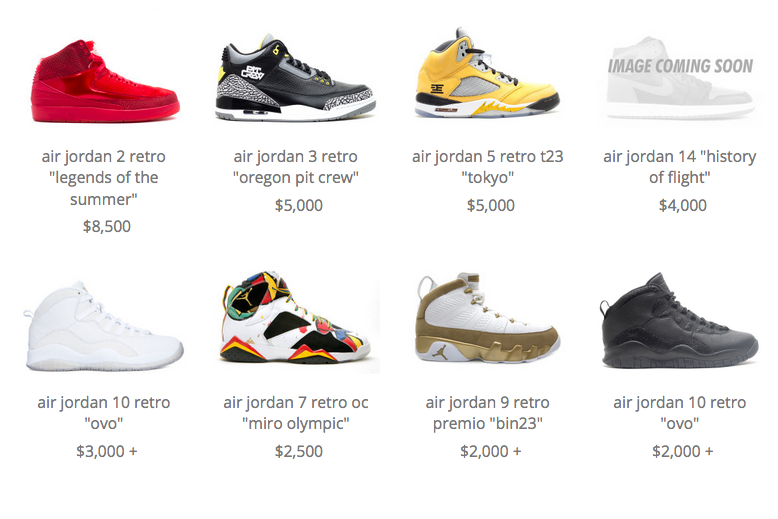 8995696e3150 10 Most Expensive Air Jordans on Flight Club Right Now