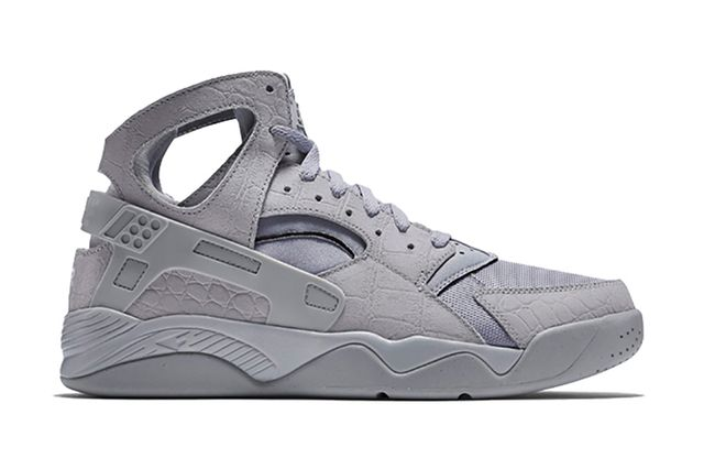 nike-air flight huarache-grey croc