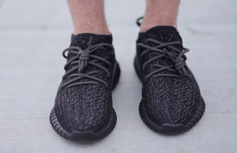c71305e6c11 Adidas Yeezy Boost On Foot Look Feat. Wolves by Kanye West