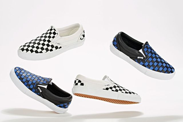 barneys new york-vans-slip on-checkerboard collection