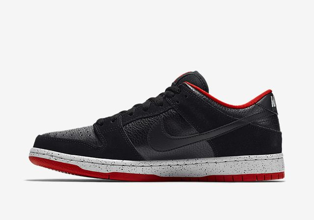 nike sb-dunk low-black cement