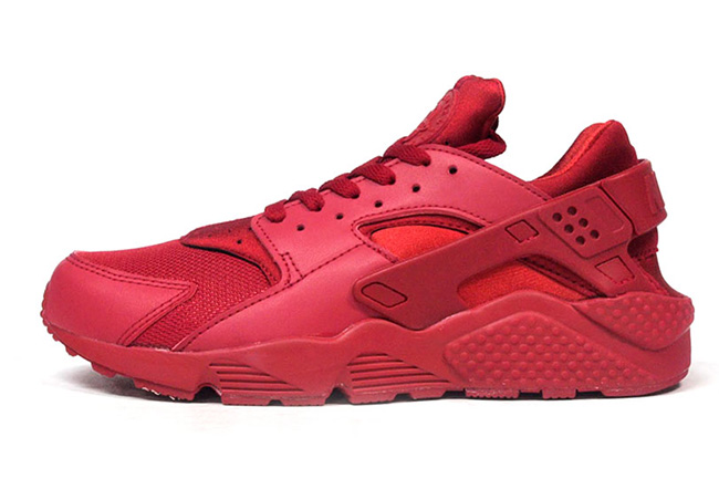 red-nike-air-huarache