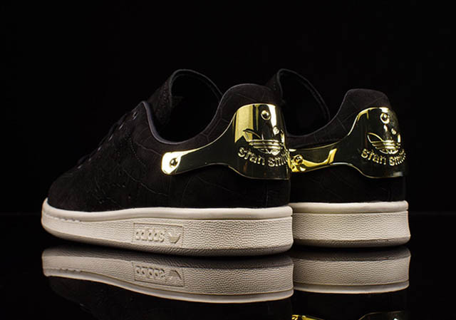 Adidas Stan Smith Gold And Black