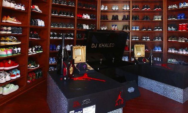 huge selection of e1f8c 503a6 DJ Khaleds Sneaker Closet