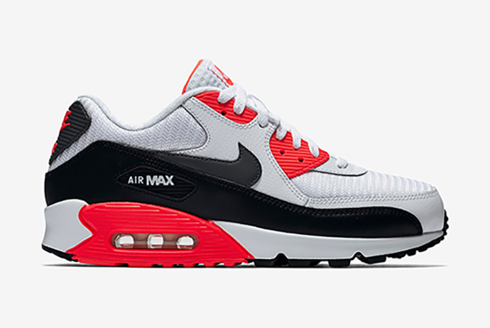 nike-air max 90 essential-bright crimson