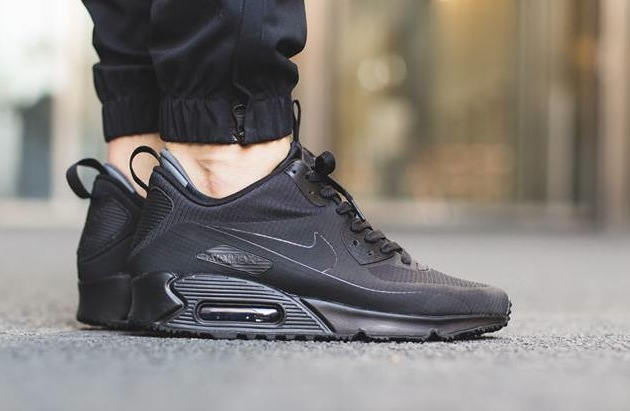 new style 12742 f3670 ... new zealand nike air max 90 mid winter black 1 90405 f85b7