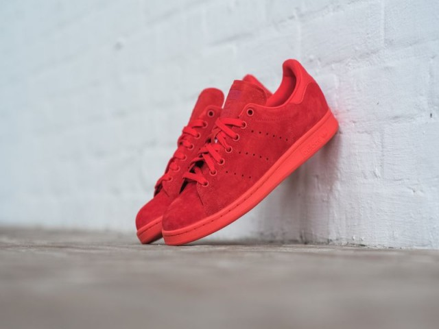 adidas stan smith red-power red