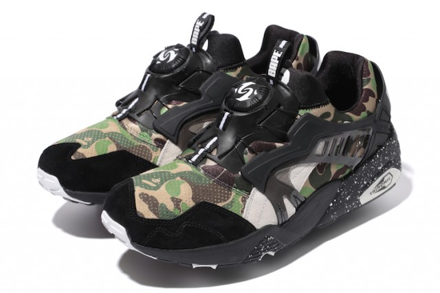 bape x puma f-w collection