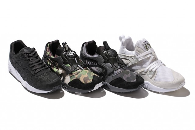 bape x puma f-w collection header