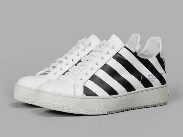 off-white diagonals sneaker