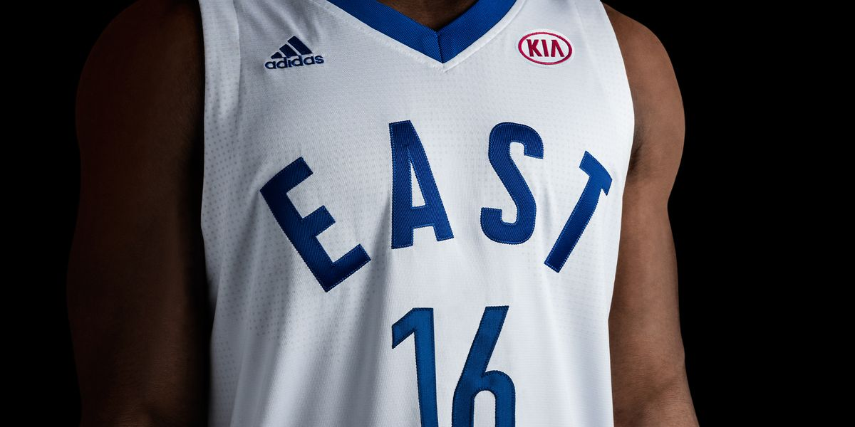adidas-NBA All-Star East Jersey Front H