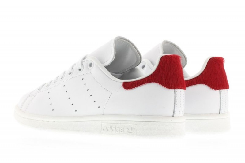 adidas-originals-stan-smith-vintage-white-red-pony-hair 2
