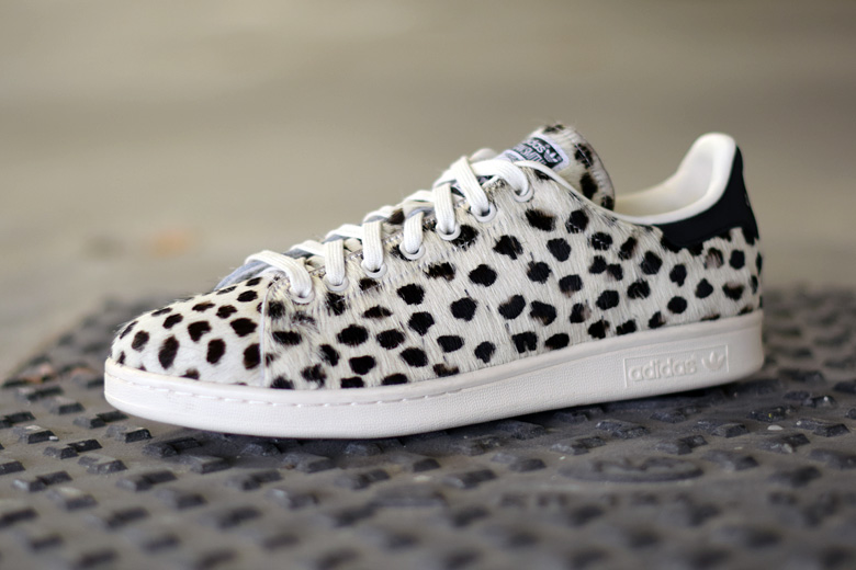 adidas stan smith animal print