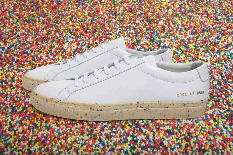 common projects x dover street market sprinkles