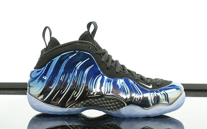 Nike Leather Air Foamposite One concord ShoesSize 10.5 ...