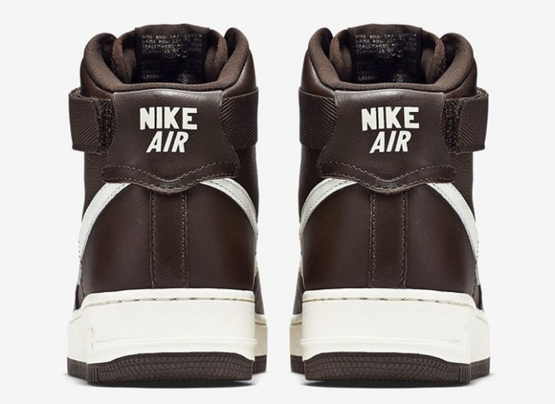 nike air force 1 chocolate