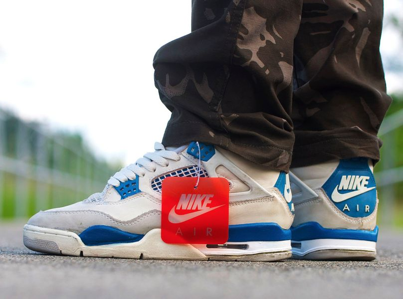 air jordan retro 4 military blue 2016