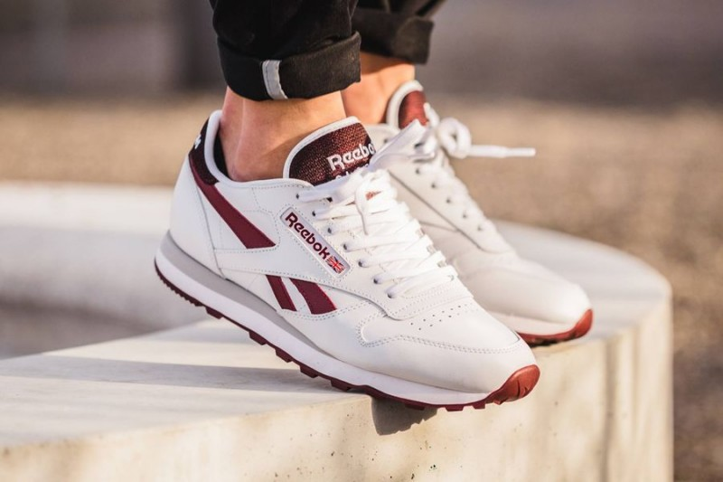 reebok classic leather merlot