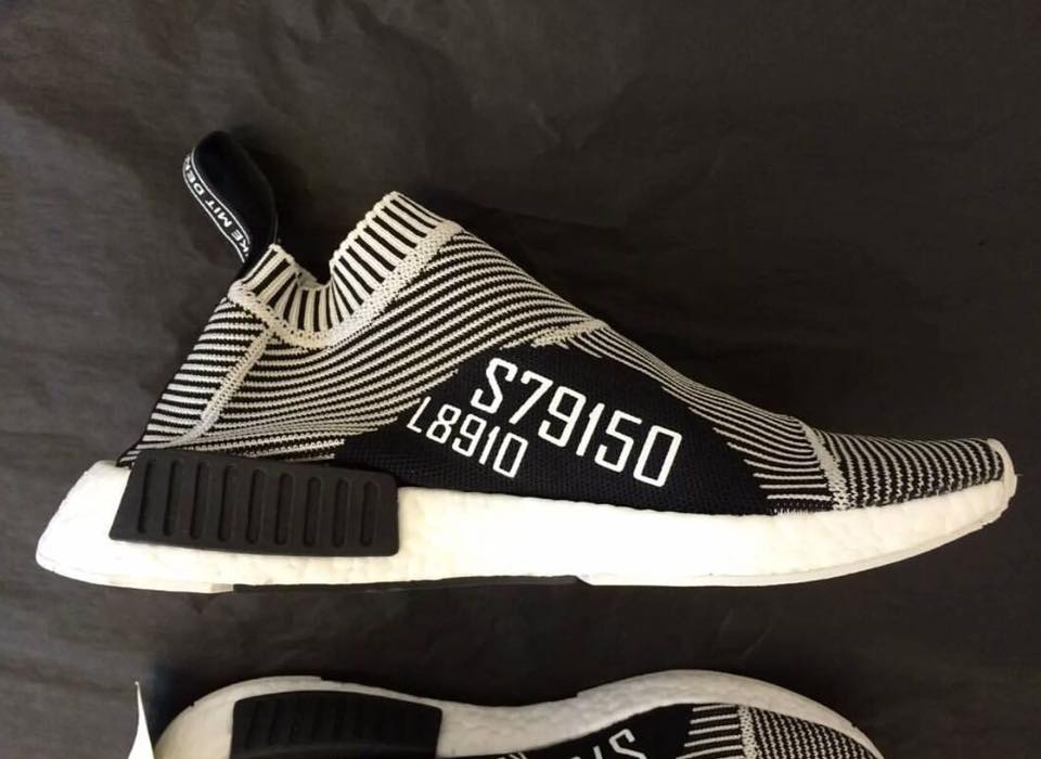 Adidas NMD Runner White Red Black Whoosh!