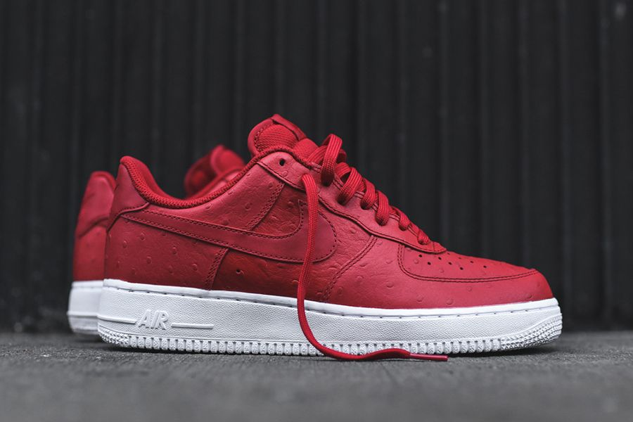 Nike-Air-Force-1-07-LV8-Red-Ostrich-1