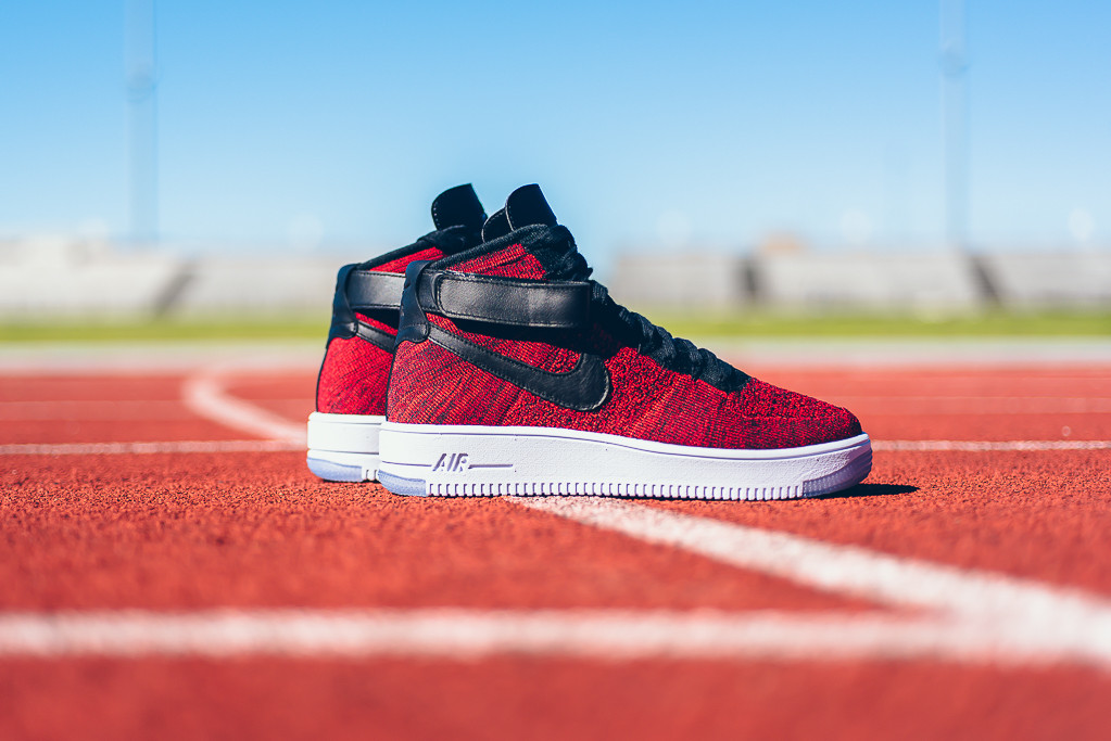 new product f4f67 fd257 Nike Air Force 1 High Flyknit