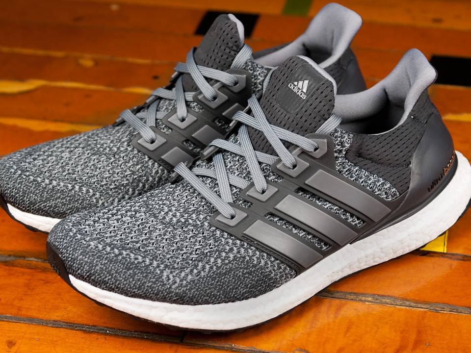 Men 's Adidas Ultra Boost 3.0 LTD Gray Leather Cage BB 1092 Sizes 8