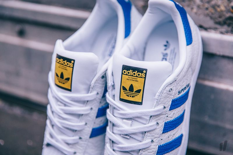 "Adidas Superstar Animal ""Collegiate Royal"""
