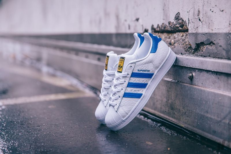 buy adidas superstar collegiate blue fefee 32b66