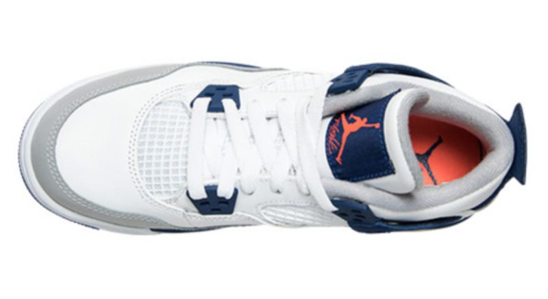 Air-Jordan-4-GS-White-Deep-Royal-Blue-Wolf-Grey-Hyper-Orange-6