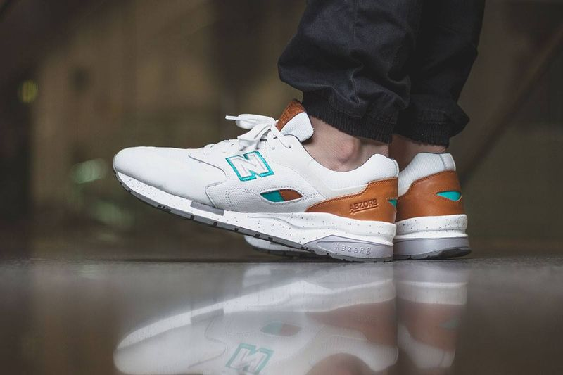 "New Balance CM 1600 ""White-Teal"""