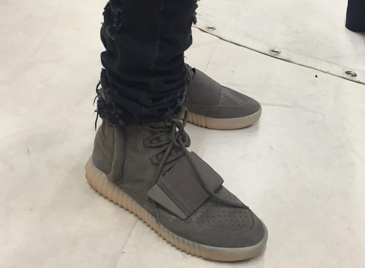 meet d221d 7e9a5 Kanye West debuts New Grey Yeezy 750