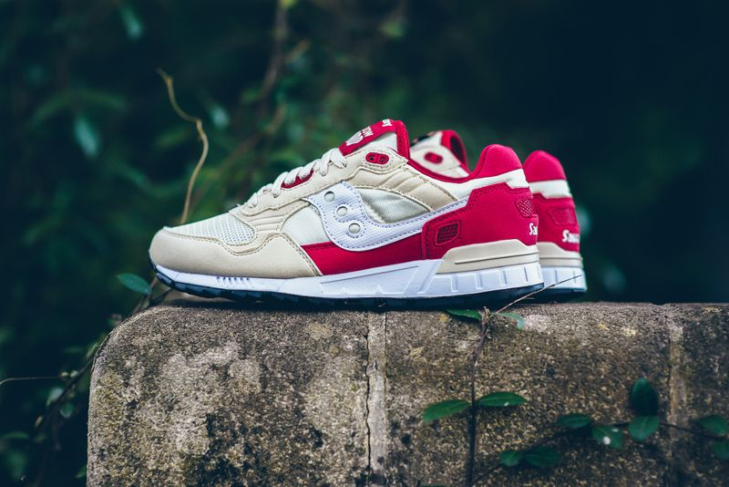 Saucony Shadow 5000 - Cream/Red