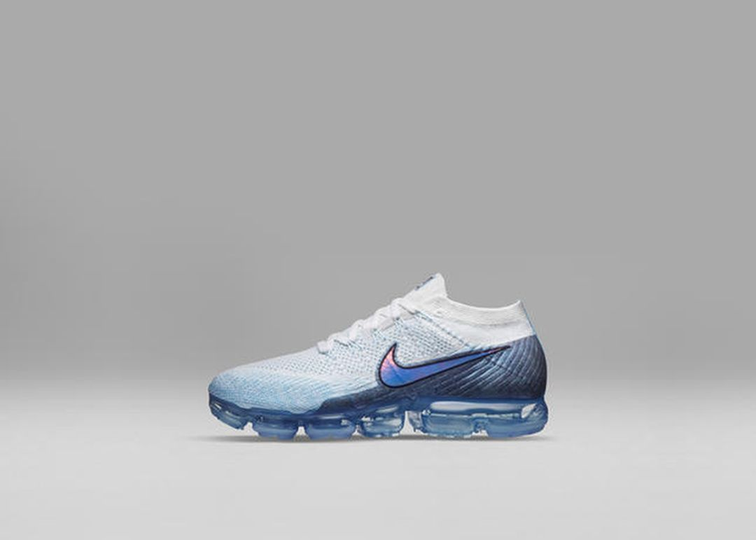 Nike VaporMax White Blue Women's Colorway
