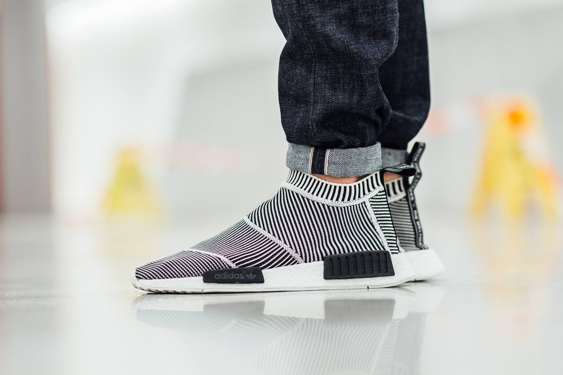 ADIDAS NMD CS1 CITY SOCK WHITE GUM REVIEW