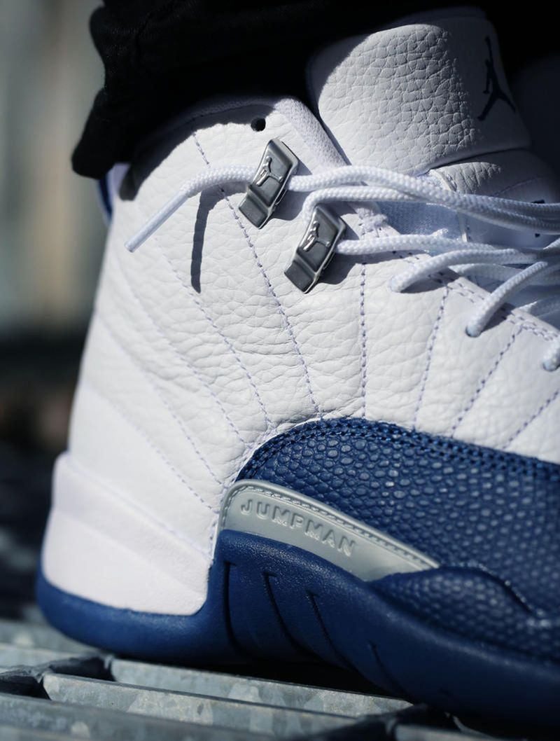 french-blue-jordan-12-on-feet-2