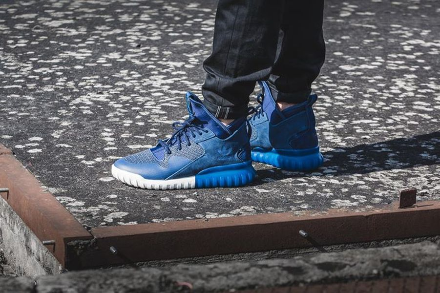 Adidas Tubular X Prime Knit On Feet