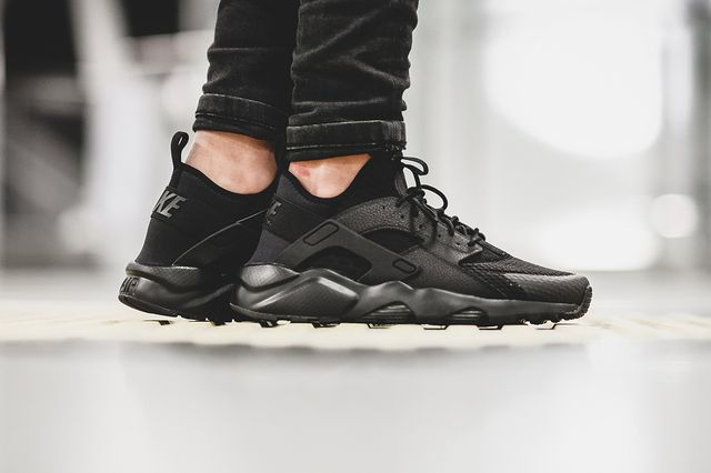 nike-air huarache ultra br-all black