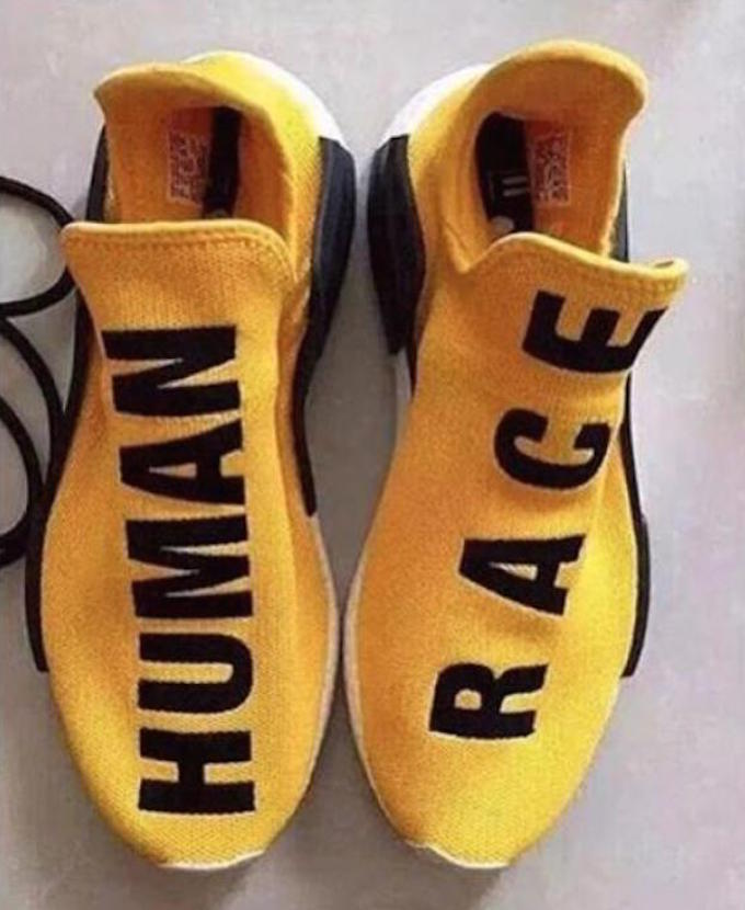 Adidas NMD human race yellow is cutting price on godbiess